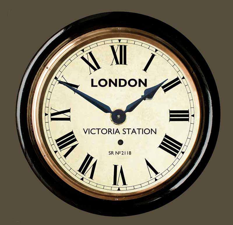 Victoria Station Wall Clock