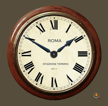 Rome Station Clock 16