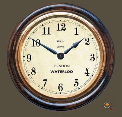 Waterloo Staion Wall Clock