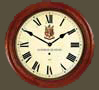 Wood Dial Roman Wall Clock