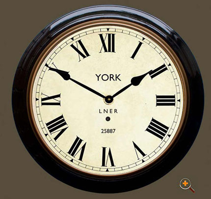 Reproduction Railway Clocks - York Station