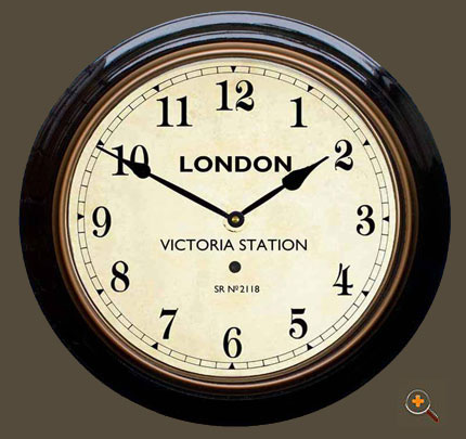 Victoria Station Clock Face